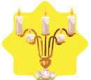 Golden Wedding Candlestand
