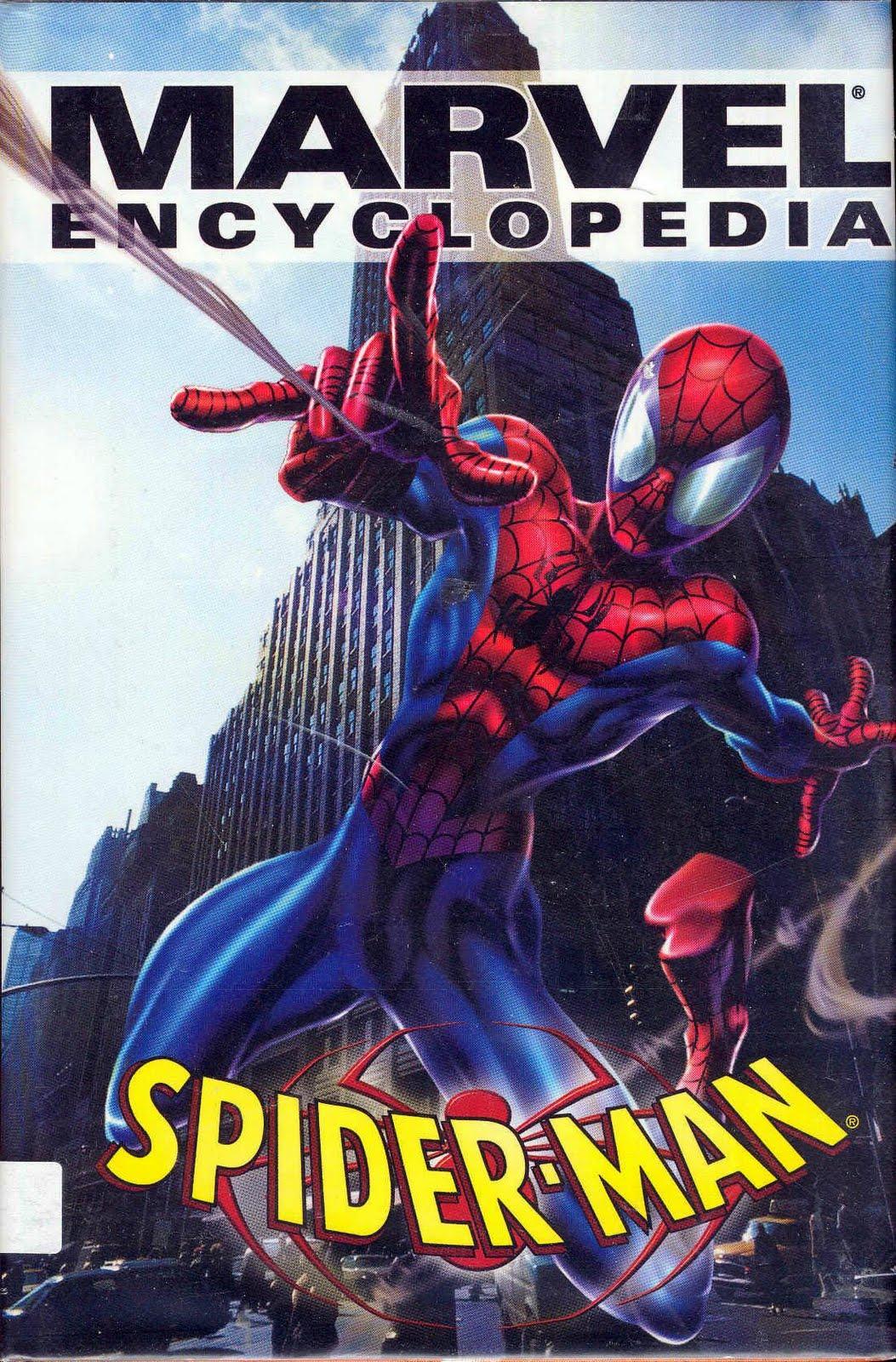 Marvel encyclopedia vol 1 spider man marvel database wikia - Marvel spiderman comics pdf ...
