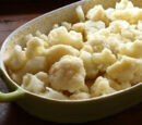 Cauliflower with Butter and Breadcrumbs