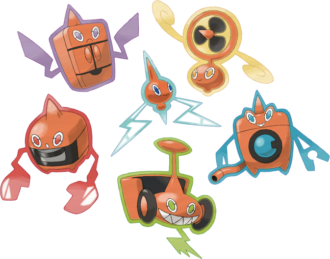 [Regras/Guias] Pokémons e Habilidades Pokémons Rotom_All