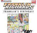 Franklin Richards: Franklin's Birthday! Vol 1