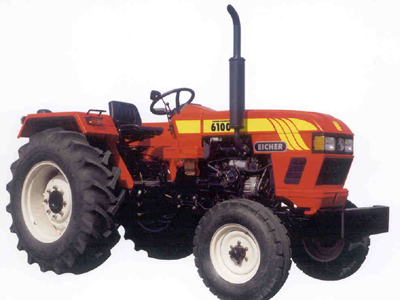 Eicher 6100 tractor construction plant wiki the for Eicher motors share price forecast