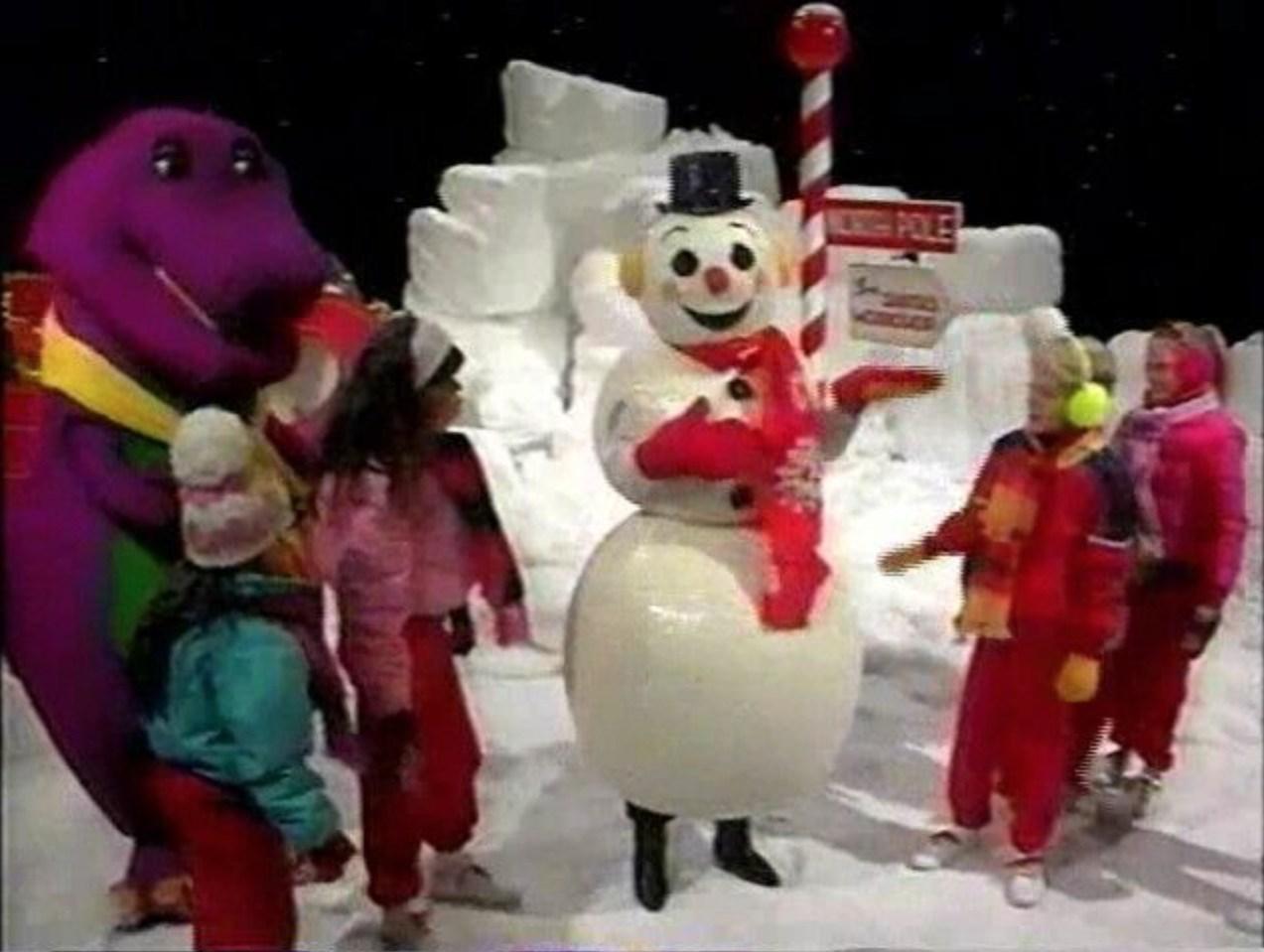 Winter's Wonderful - Barney Wiki