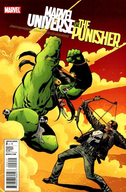 Marvel Universe Vs  The Marvel Universe Vs The Punisher