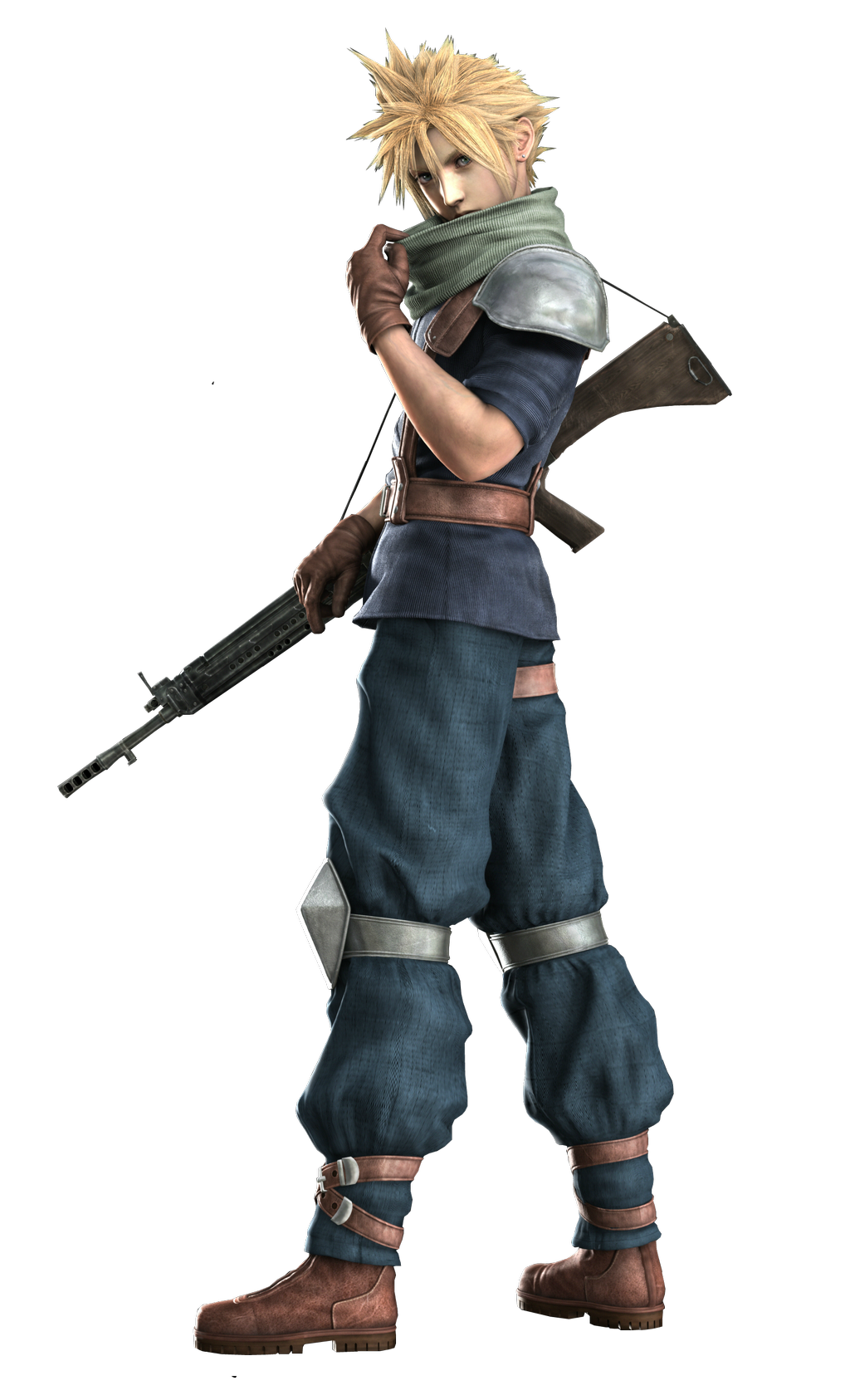 cloud strife the final fantasy wiki 10 years of having more final fantasy information than. Black Bedroom Furniture Sets. Home Design Ideas