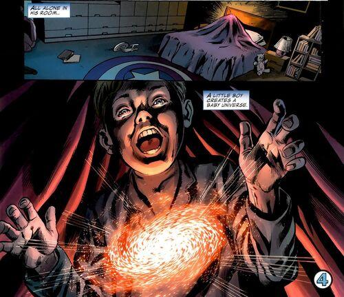 Earth 616 Deadpool Franklin Richards Earth-616