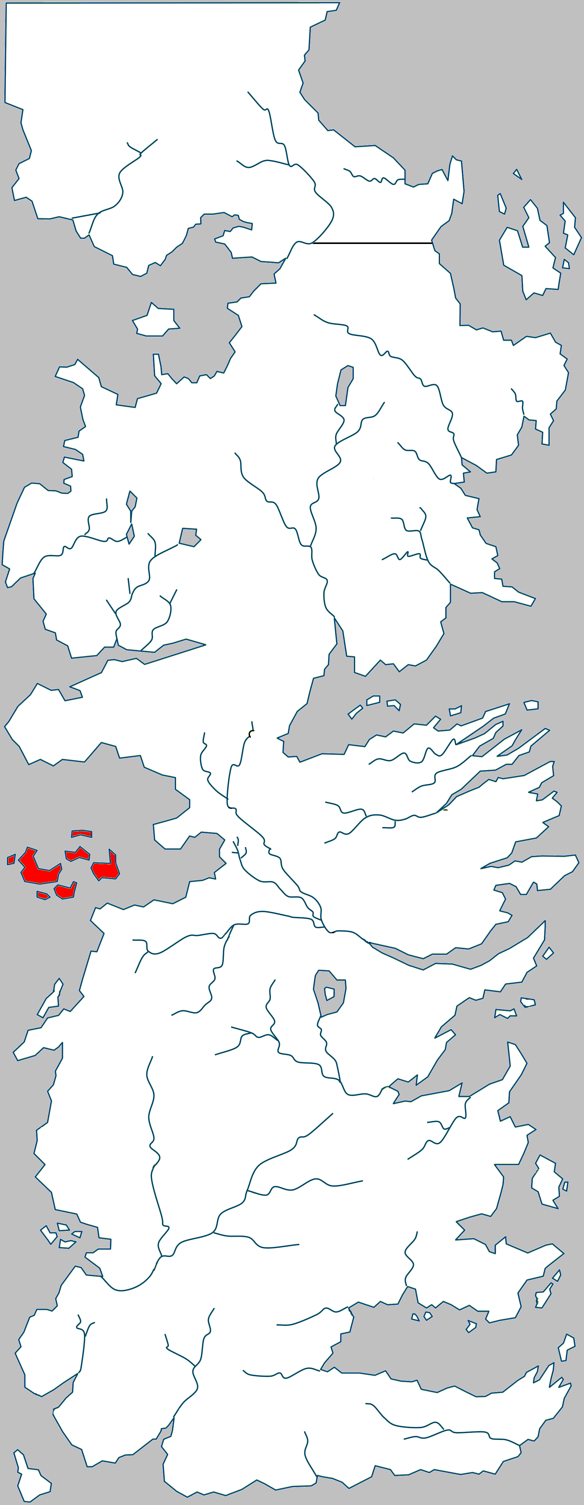 ASOIAF Islands and Seas on a Map slideshow Quiz  By