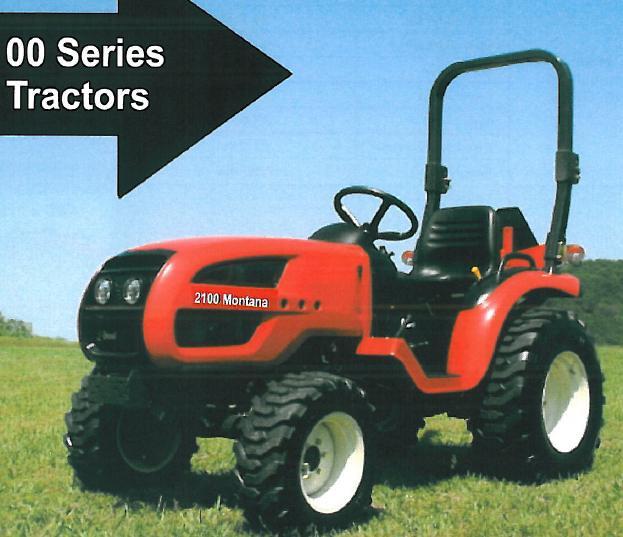 Kukje Tractor Parts : Montana mfwd branson