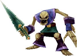 Bestiario: Monstruos normales Cementerio de Trenes SkeletonFFIX