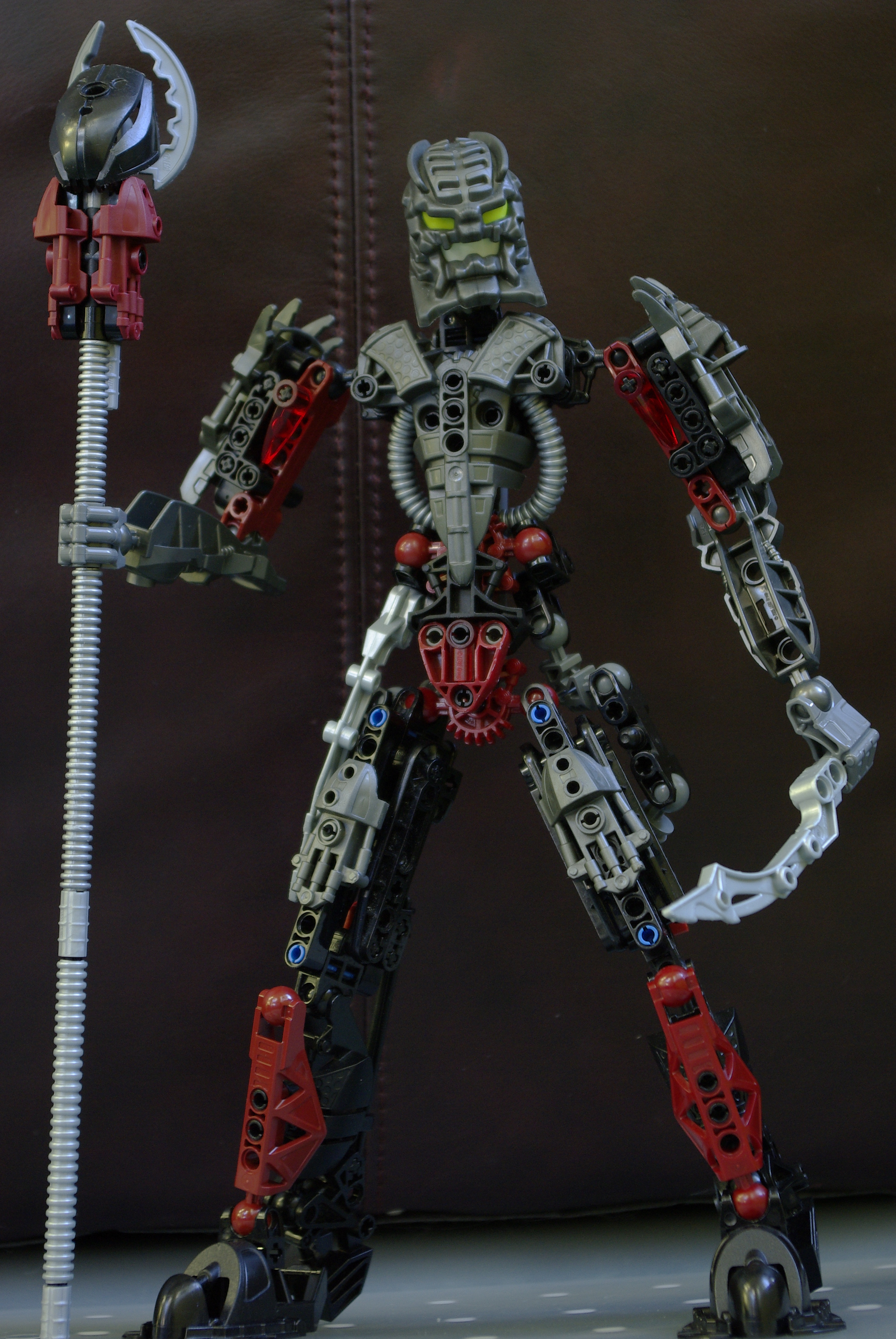 custom LEGO Bionicle Tobduk