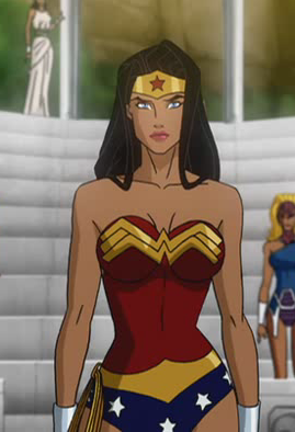 Image wonder woman dc comics database - Superman wonder woman cartoon ...