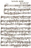 İstiklal Marşı 1. sayfa