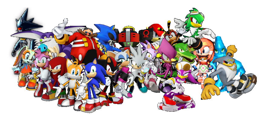 Characters Images Silver Pigstruction: Awesome Sonic Characters.PNG