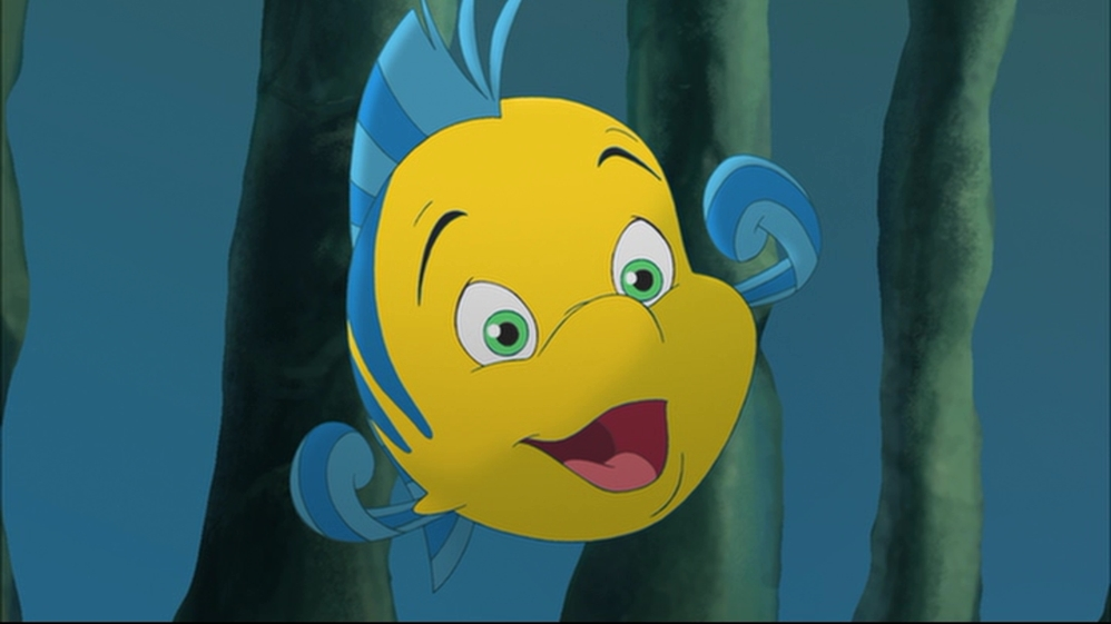 Flounder in The Little Mermaid: Ariel's Beginning .