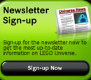 LEGO Universe Newsletter