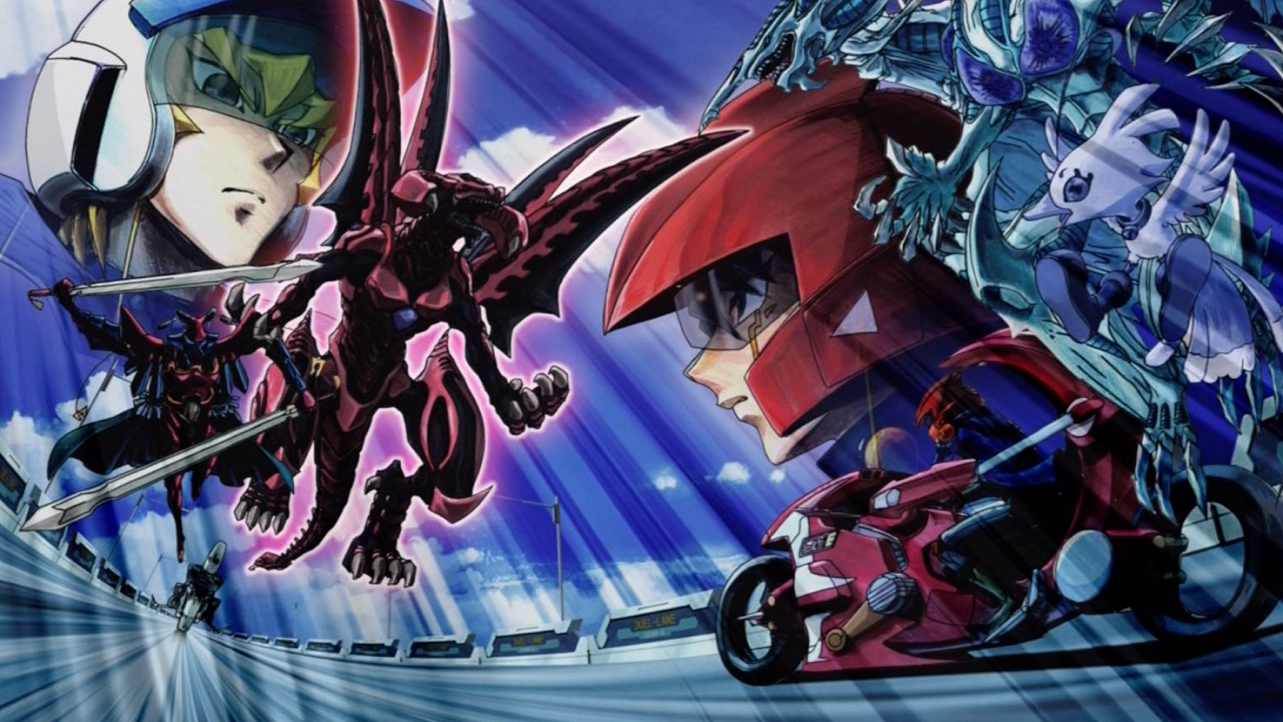 5Dx153 Yusei faces Red Nova Dragon jpgYugioh 5ds Dragon Wallpaper