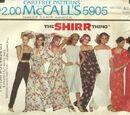 McCall's 5905