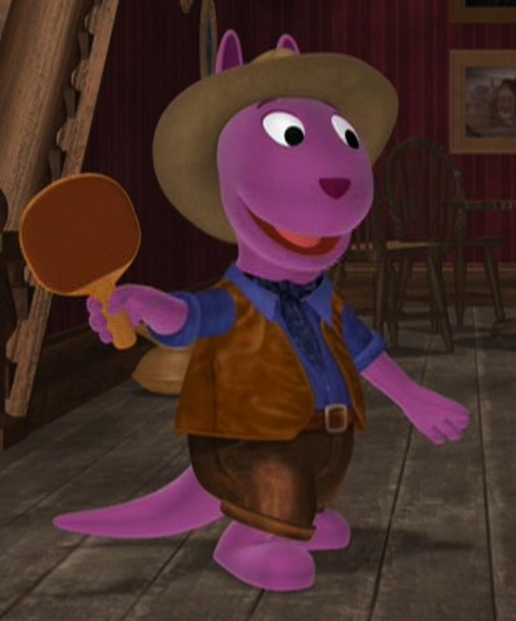 Backyardigans Purple Kangaroo : Austin the Kid  The Backyardigans Wiki