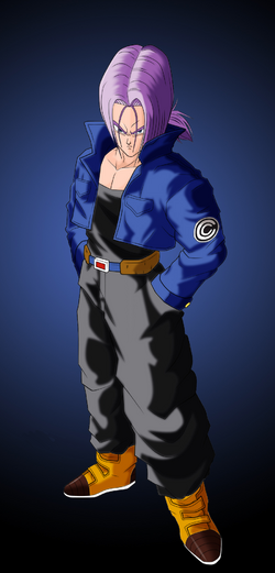 Future trunks colored by gabrielgonzalez1-d3a83sy