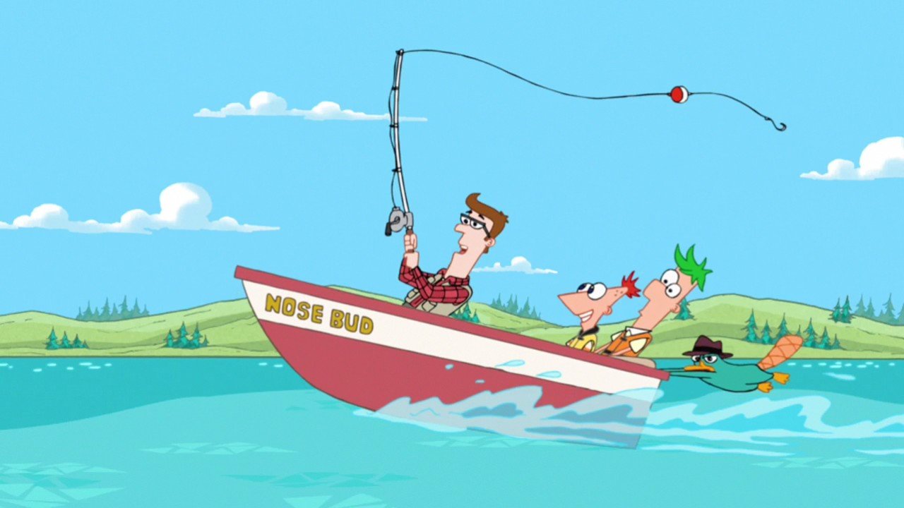 Lawrence fletcher phineas and ferb wiki your guide to for Closest fishing store