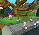 Lawn gnomes (Gnome Dimension)