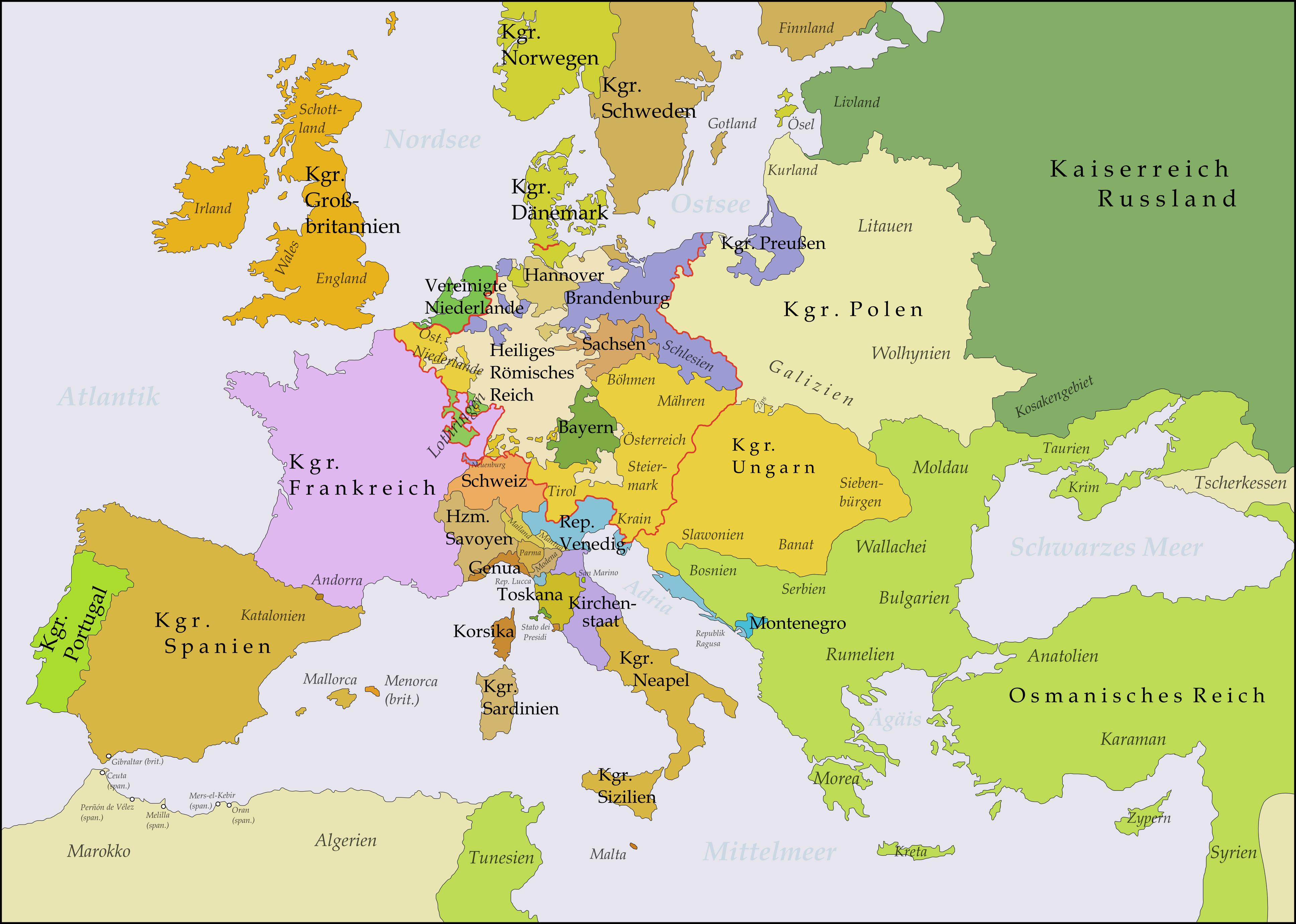Crimean War Map For Kids