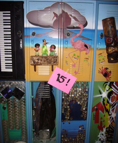 Victorious Star Spangled Tori Lockers - Victorious W...