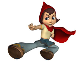 Hoodwinked Red Image - Hoodwinked-Red