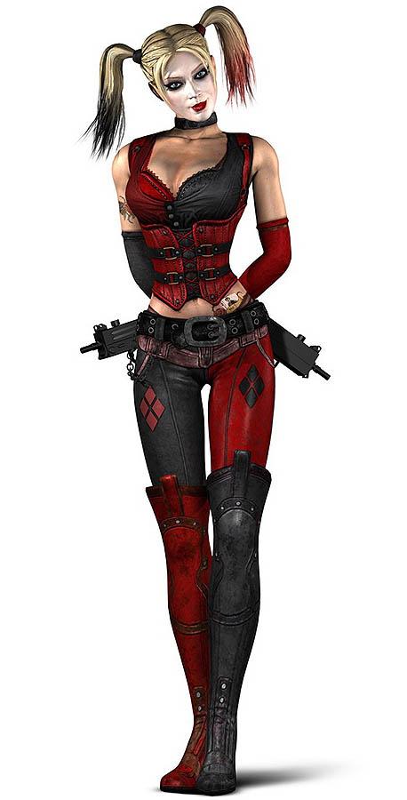 Harley Quinn arkham city