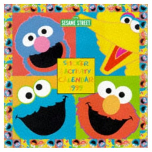 Sesame Street Sticker Activity Calendar 1999 - Muppet Wiki
