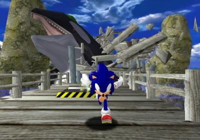 Curiosidades sobre consolas y juegos Sonic-adventure-dx-4