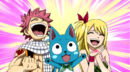 Natsu, Lucy and Happy's happiness about Erza's recovery.jpg