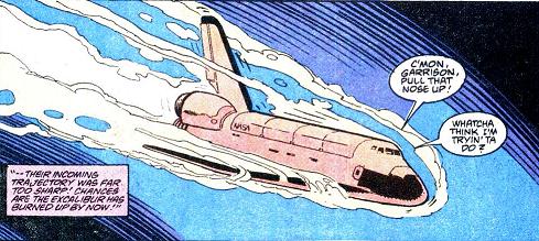 space shuttle comic - photo #26