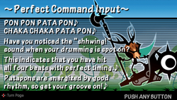 P Command input
