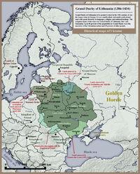 Grand Duchy of Lithuania Rus and Samogitia 1434