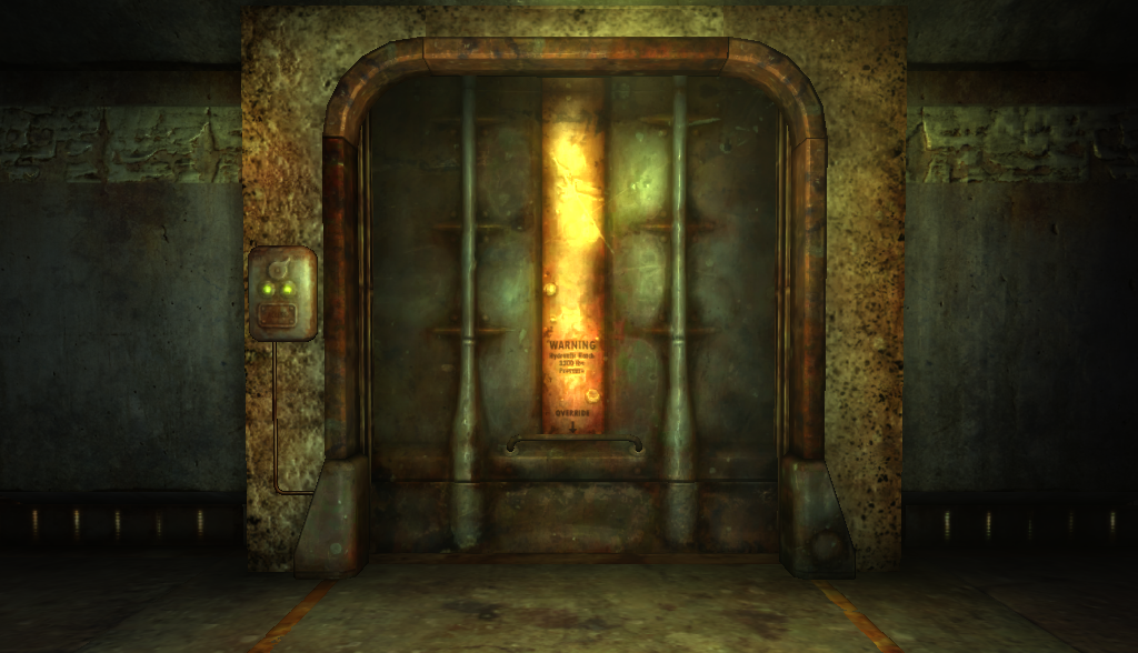 Vault Door The Fallout Wiki Fallout New Vegas And More