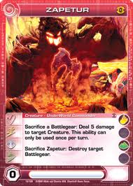 Zapetur Chaotiki The Chaotic Wiki Chaotic Cards