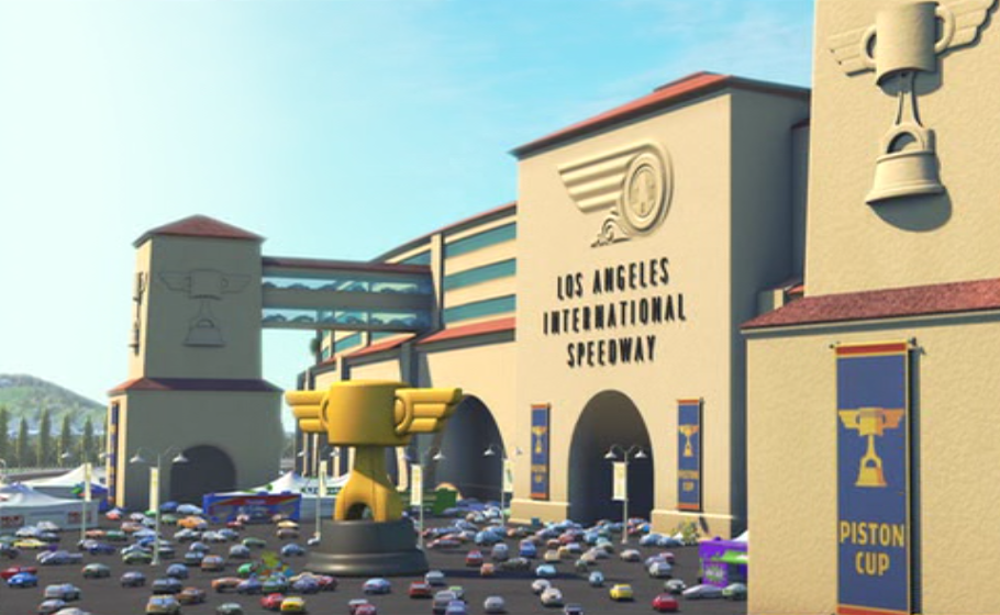 los angeles international speedway pixar wiki disney