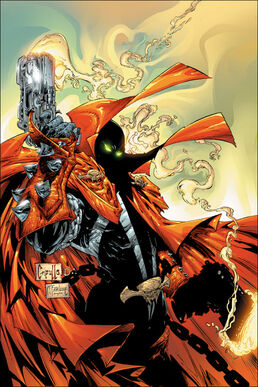 Spawn comic cover 107 cl-1-