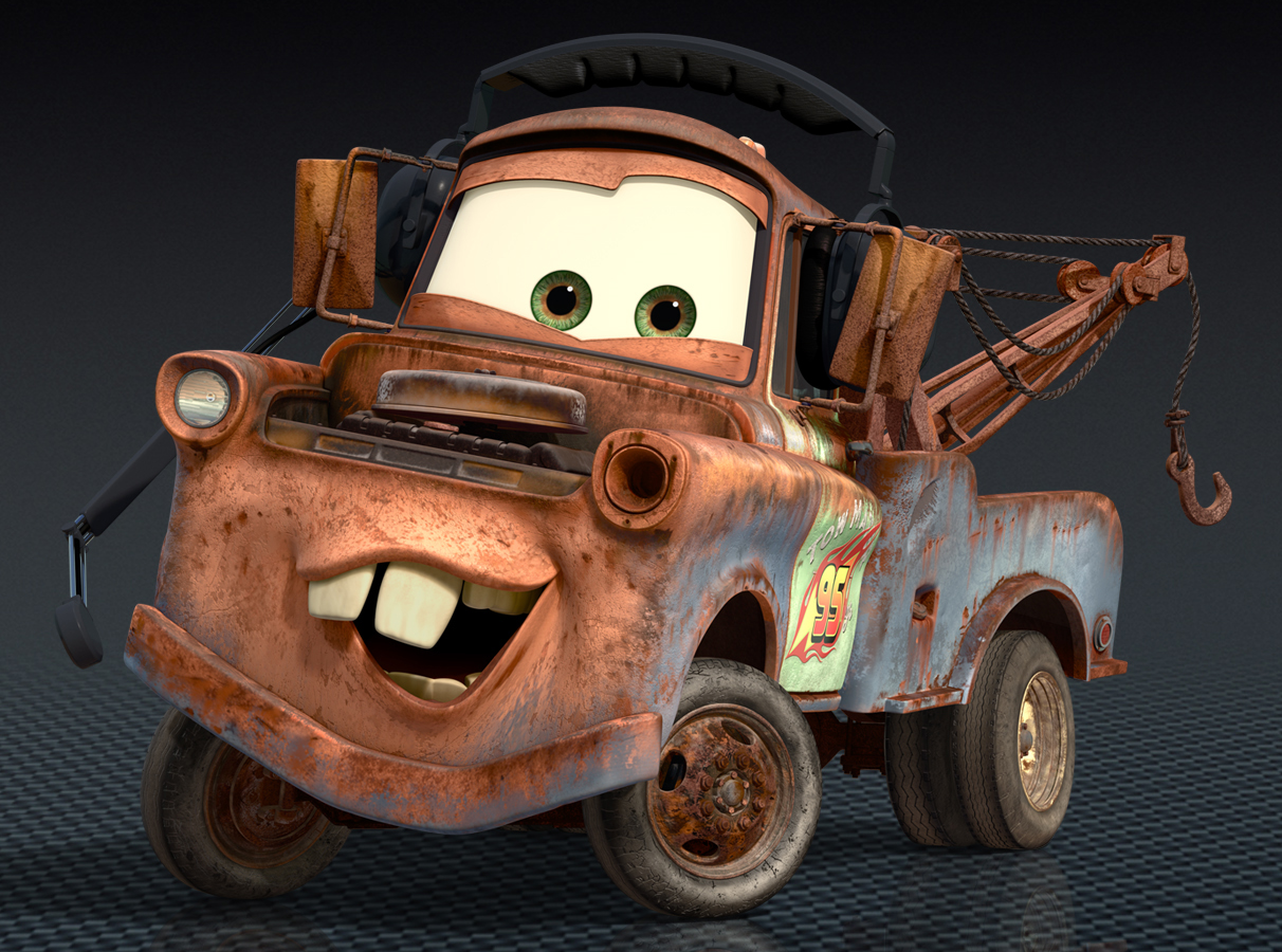 Characters In Cars: Mater '95' Number On Side.png