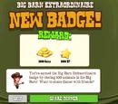 Big Barn Extraordinaire Badge