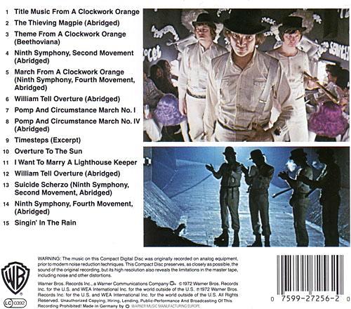 "Stanley Kubricks ""A CLOCKWORK ORANGE"" - Music Soundtrack ..."
