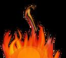 Burning Mushroom