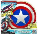 Captain America Disc Launching Shield