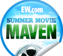 EW.com Summer Movie Maven (Sticker)