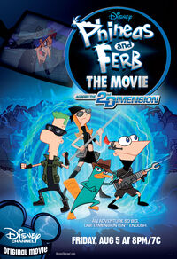 Phineas and Ferb Across the 2nd Dimension official poster