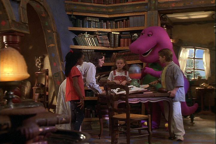 Who S Inside It Barney Wiki