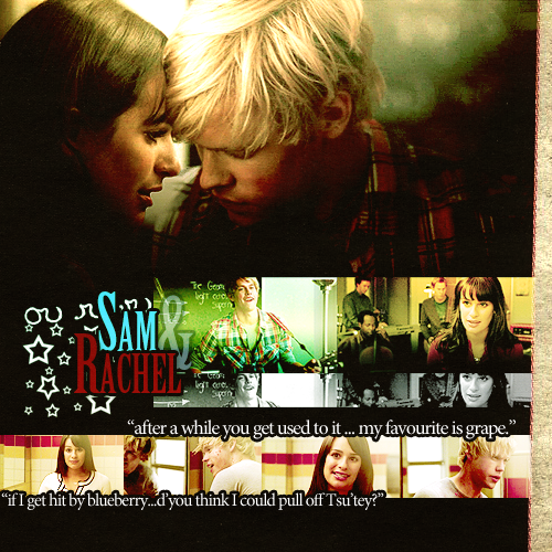 rachel and sam relationship glee wiki