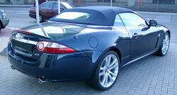 Jaguar XK8 Cabriolet rear 20070520