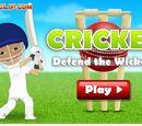 Cricket Defend the Wicket